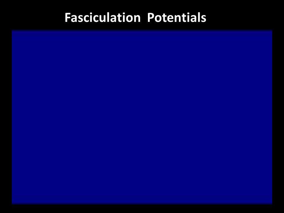 Fasciculation Potentials