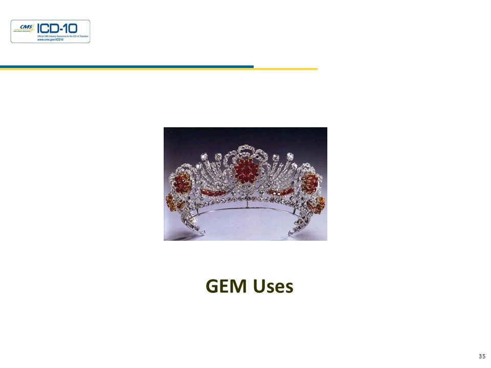 35 Health Data Consulting © 2010 GEM Uses