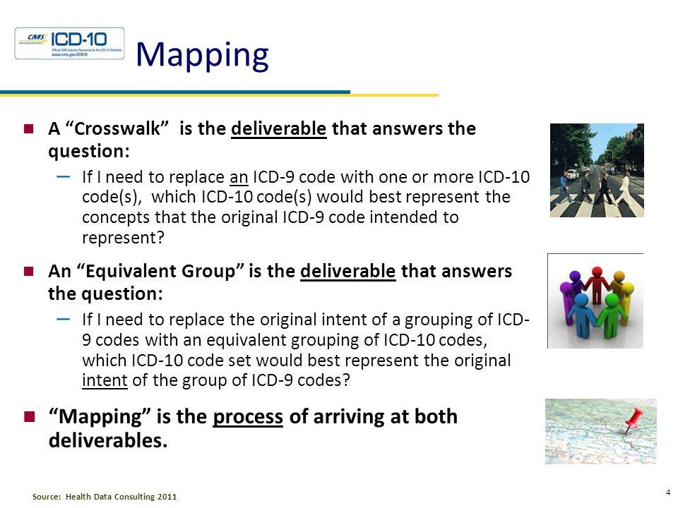 5 Health Data Consulting © 2010 Crosswalks