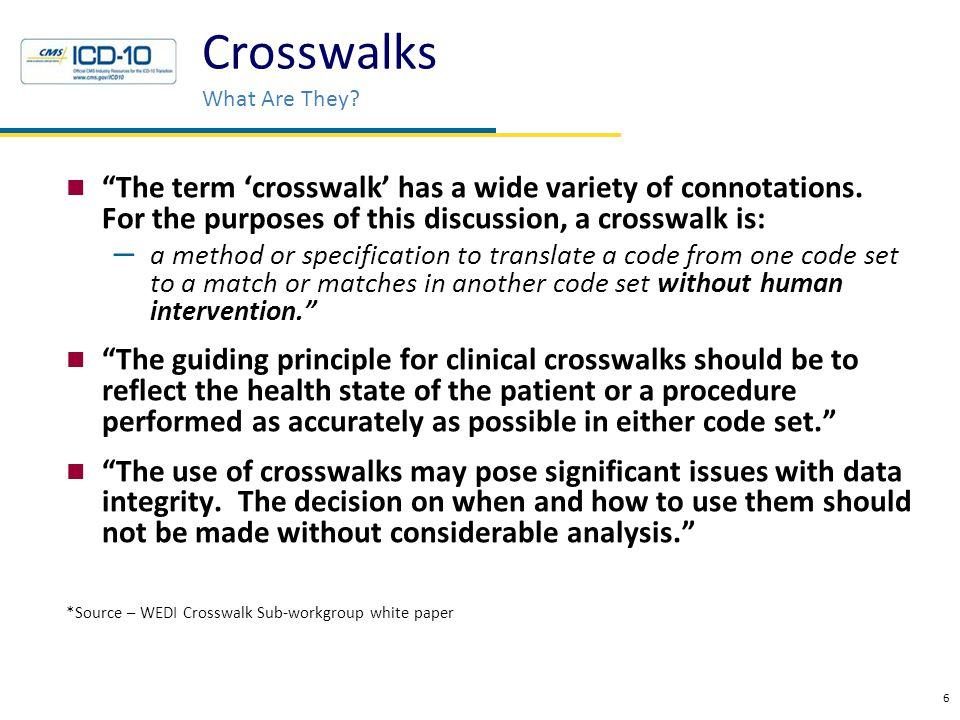 What is GEM.CMS DXGEM_GUIDE_2010 Please be advised: GEMs are not crosswalks.