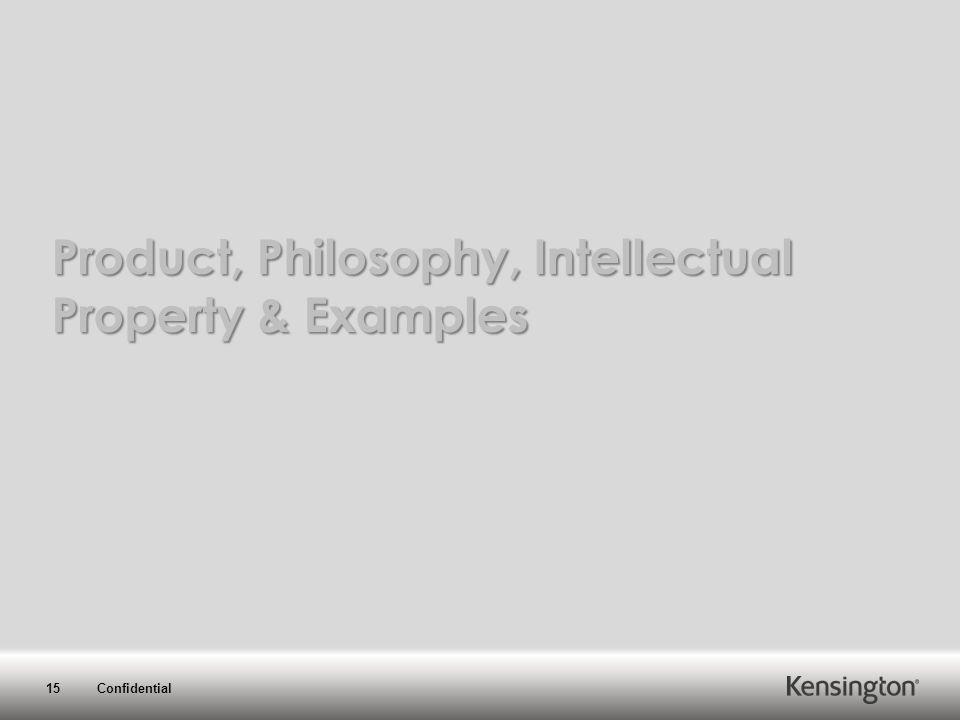 15 Confidential Product, Philosophy, Intellectual Property & Examples