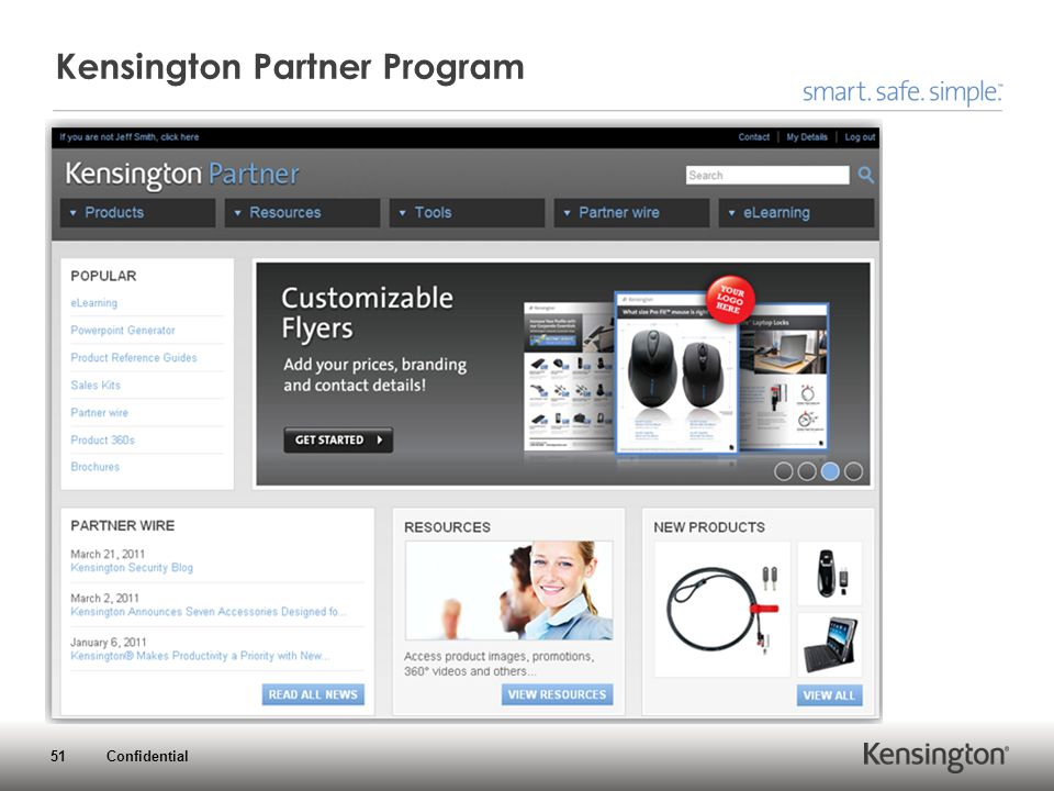 51 Confidential Kensington Partner Program