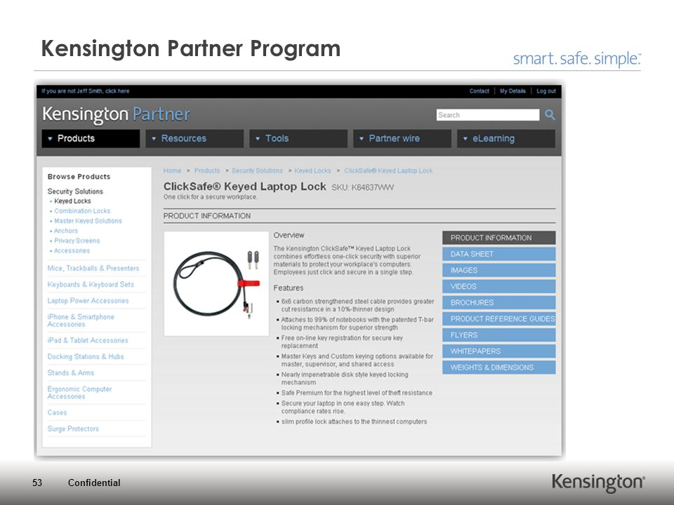 53 Confidential Kensington Partner Program