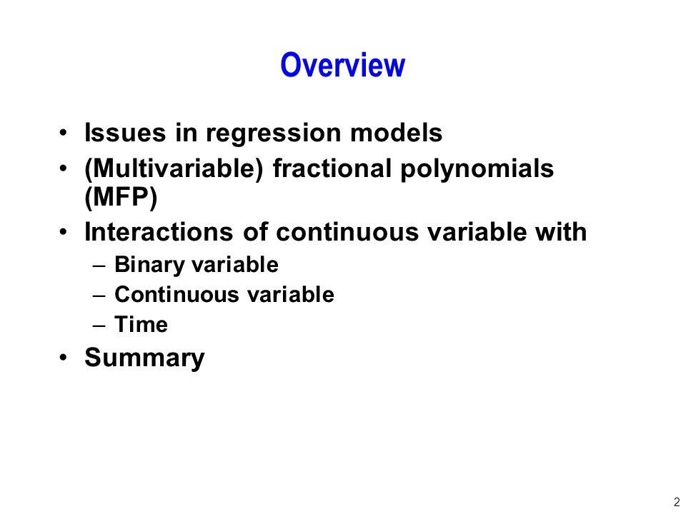 83 Harrell FE jr.(2001): Regression Modeling Strategies.
