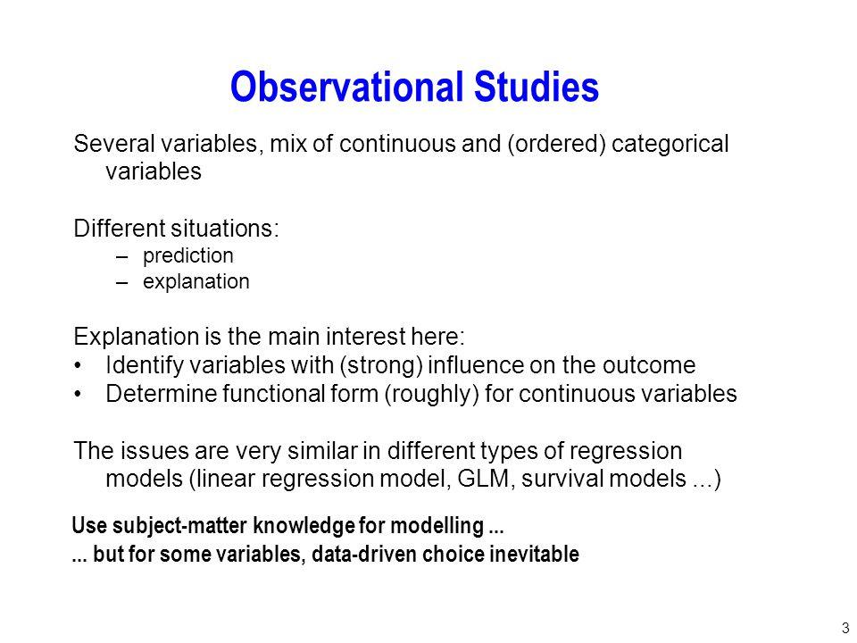 24 Multivariable FP Model choosen out of more than a million possible models, one model selected Model - Sensible.