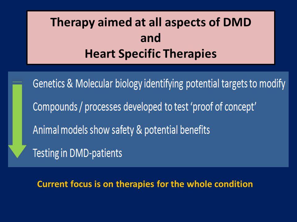 Gene-manipulation for DMD Disease modifying interventions (Oligo-medications / Gene therapies / Stem Cells)