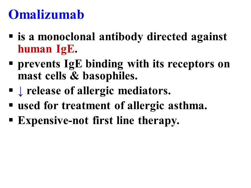 Uses of leukotriene receptor antagonists  Are not effective to relieve acute attack of asthma.  Prophylaxis of mild to moderate asthma. Like: - Aspi