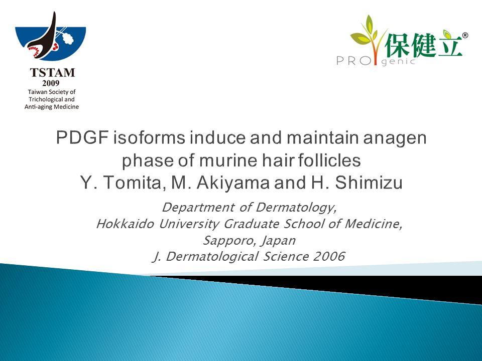 Department of Dermatology, Hokkaido University Graduate School of Medicine, Sapporo, Japan J.