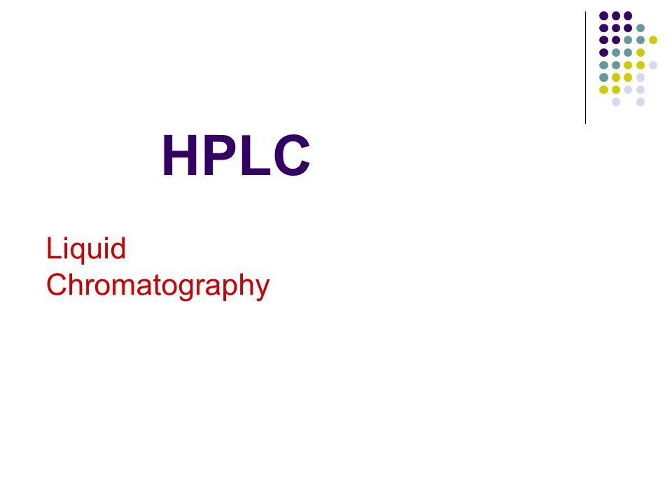 HPLC Liquid Chromatography