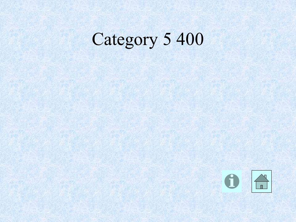 Category 5 400