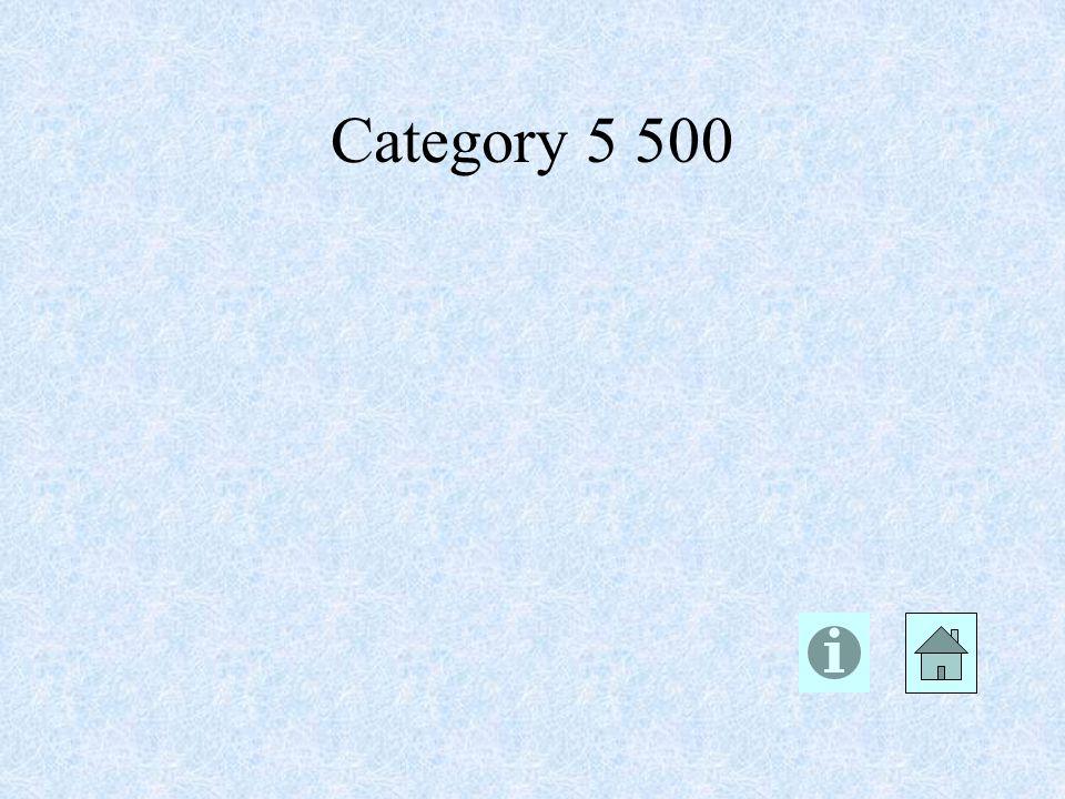 Category 5 500