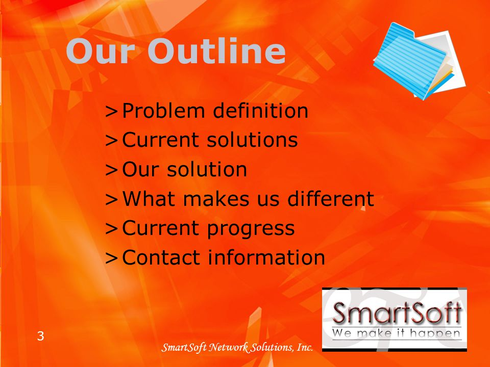 3 SmartSoft Network Solutions, Inc.
