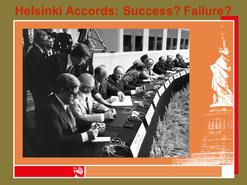 Helsinki Accords: Success Failure