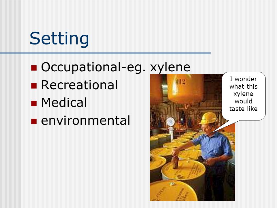 Setting Occupational-eg.