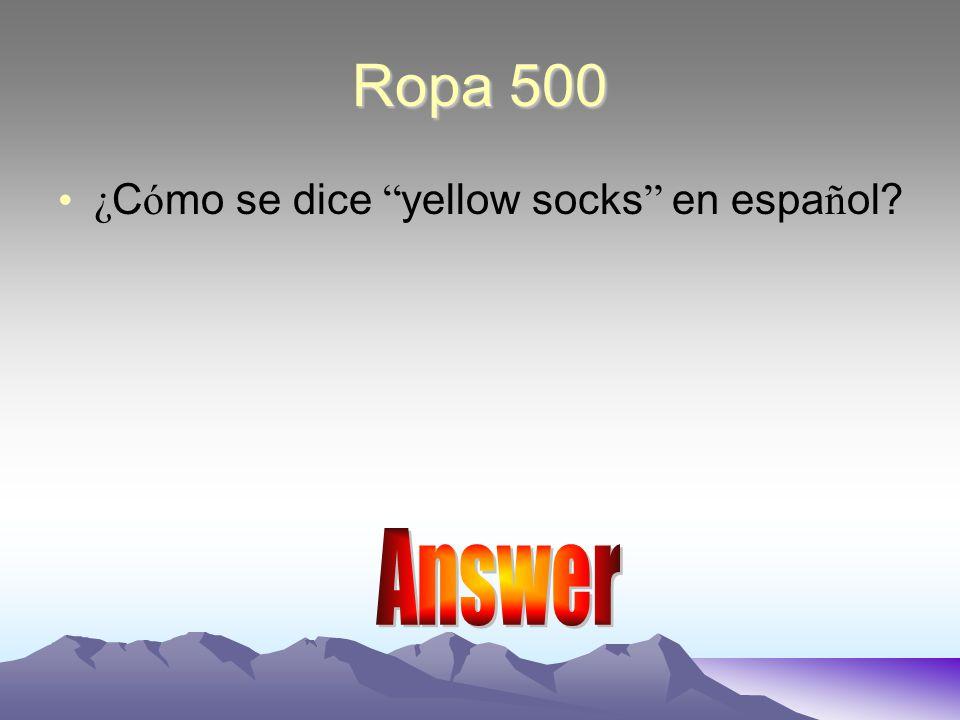 Answer 400 El vestido morado