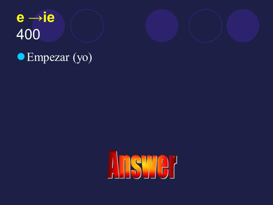 Answer 300 prefiere