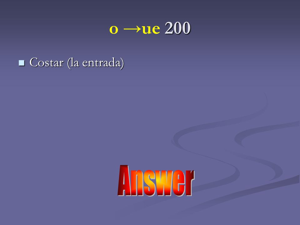 Answer 100 duermo duermo