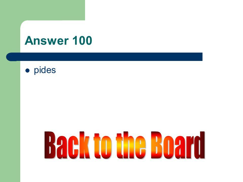 e → i 100 Pedir (tú)
