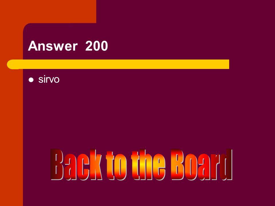 e → i 200 Servir (yo)