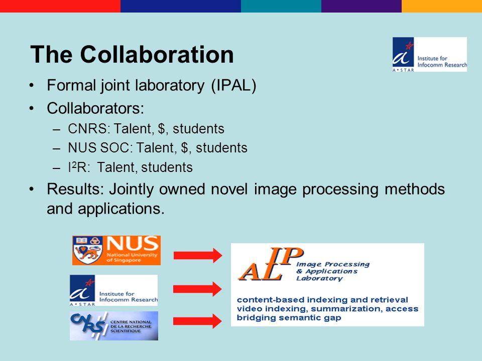 The Collaboration Stimulate scientific & tech.collab.