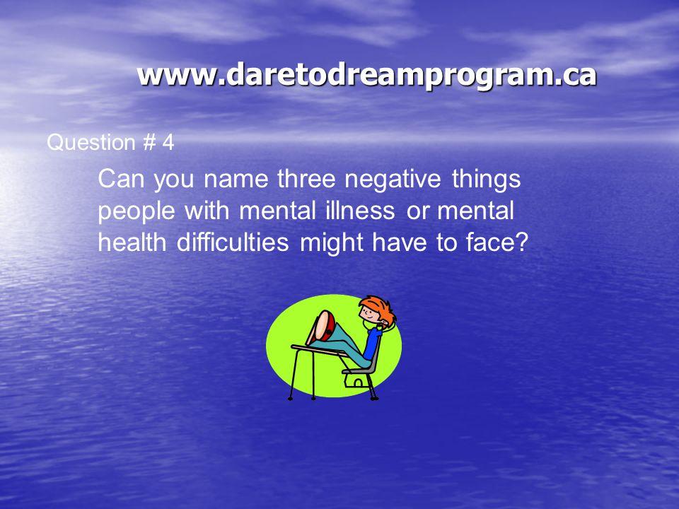 www.daretodreamprogram.ca 80-90% The Answer