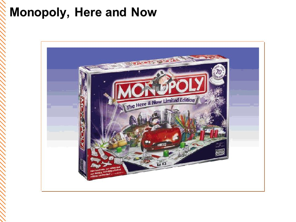 Monopoly, Here and Now