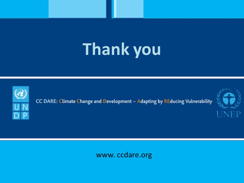 Thank you www. ccdare.org