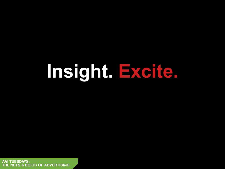 Insight. Excite.
