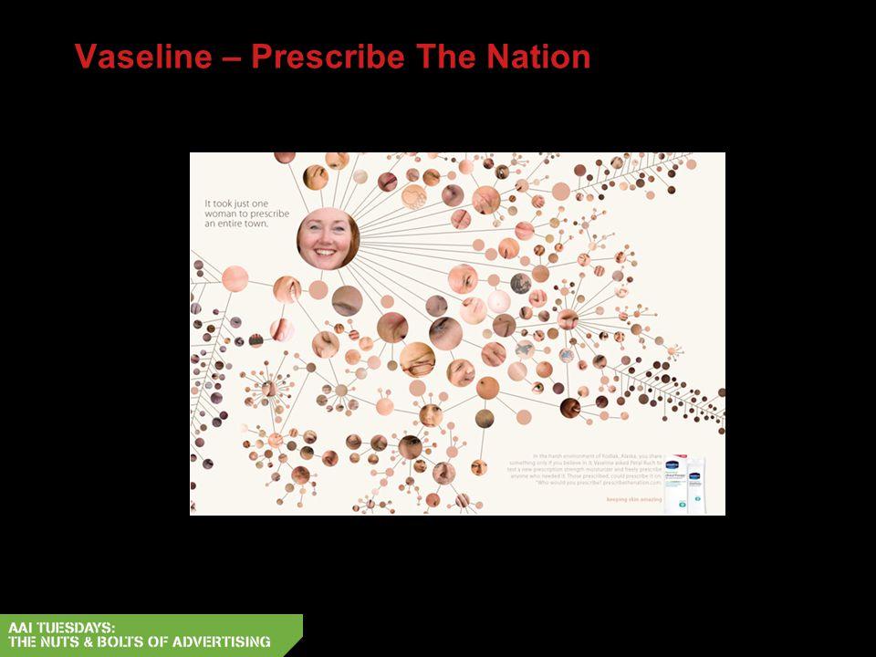 Vaseline – Prescribe The Nation