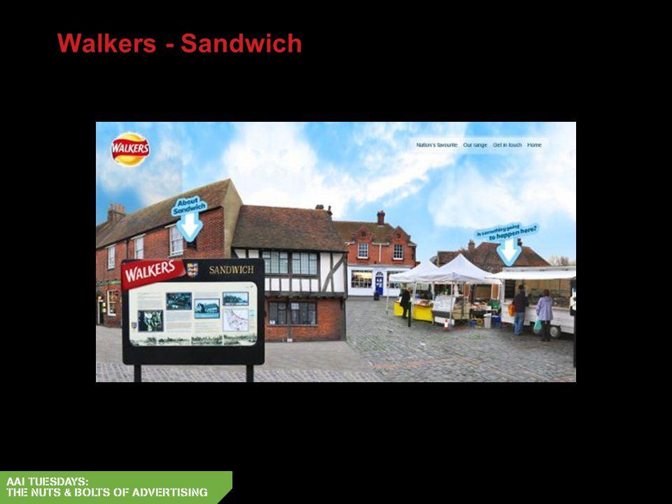 Walkers - Sandwich
