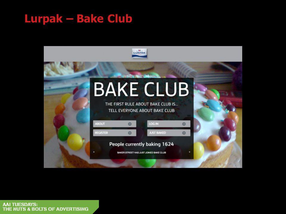 Lurpak – Bake Club