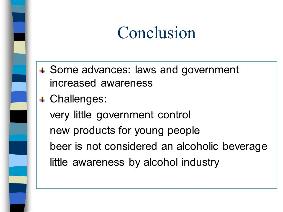 Social Responsability GuinessUDV – training young bartenders Pamphlets No systematic project by beer industry