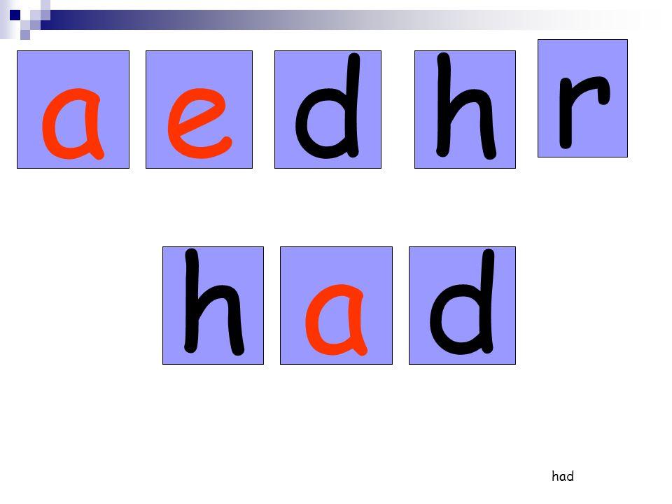 r de h a red red