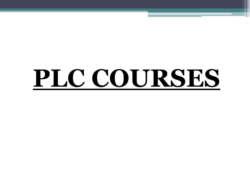 PLC COURSES