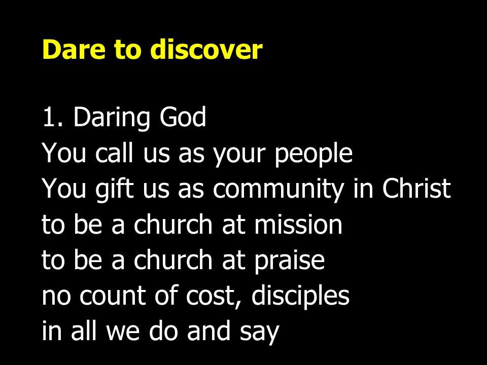 Dare to discover 1.
