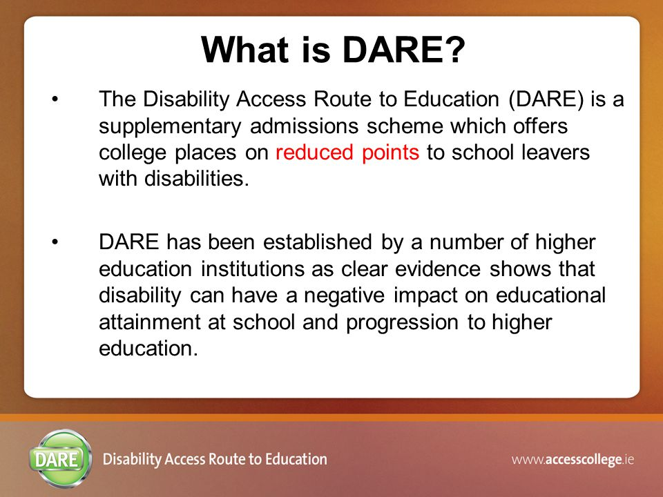 What is DARE.