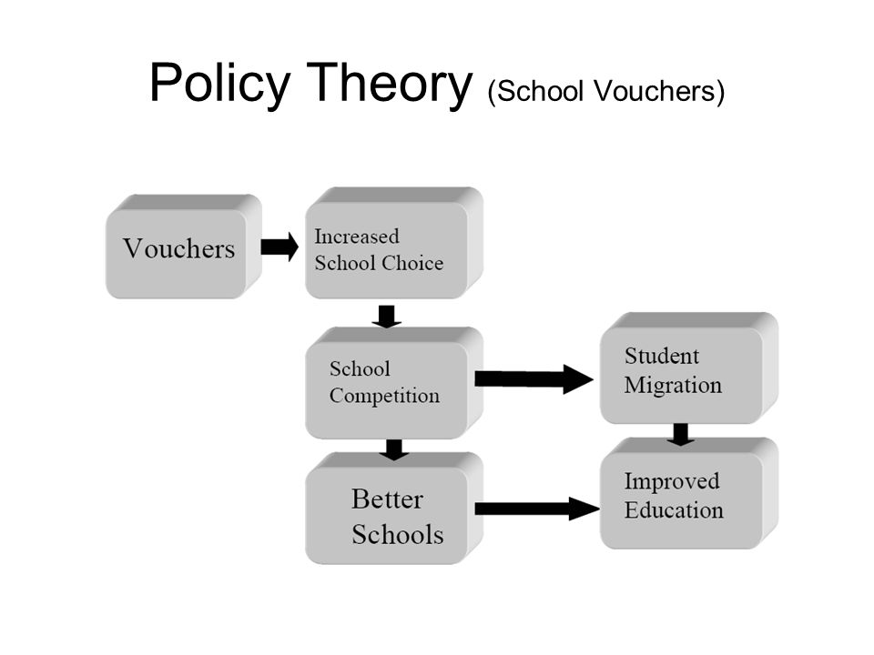 Policy Theory (School Vouchers)