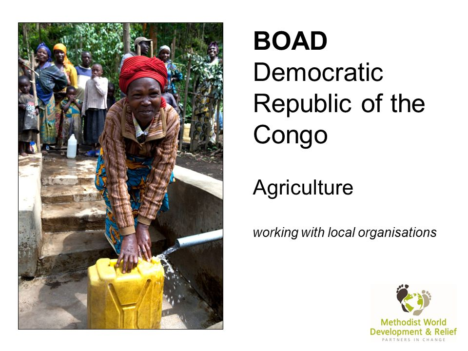 BOAD Democratic Republic of the Congo Agriculture working with local organisations