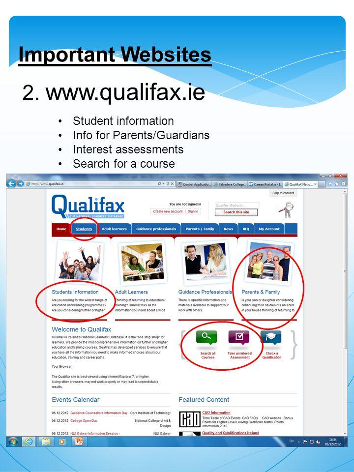 Important Websites 2.