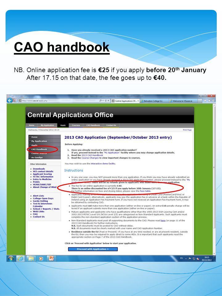 CAO handbook NB.