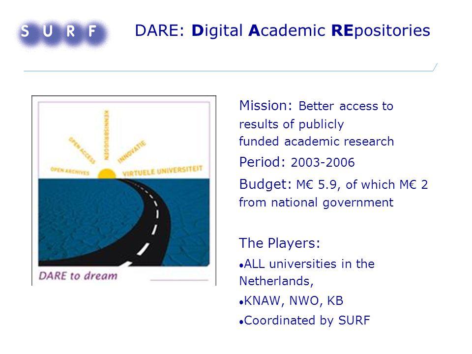Promise of Science: achievements Joint bid.