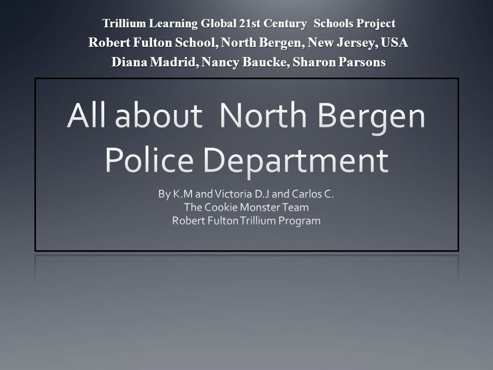 History of The North Bergen Police Department In 1923 the North Bergen Police Department was established.