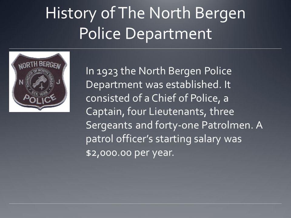 North Bergen Police Department in 2011.