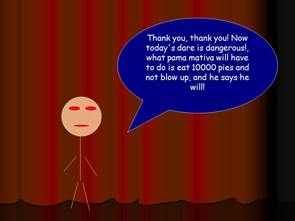 Thank you, thank you.