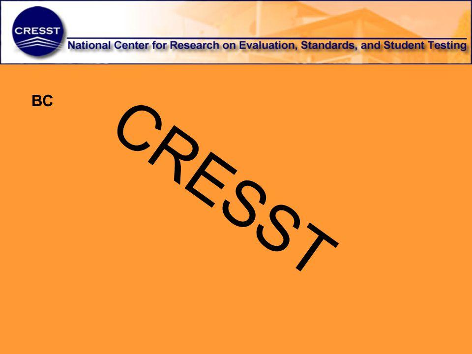 CRESST BC