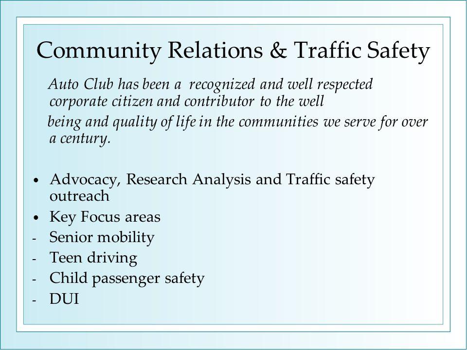 Senior Mobility Research, Education & Programs