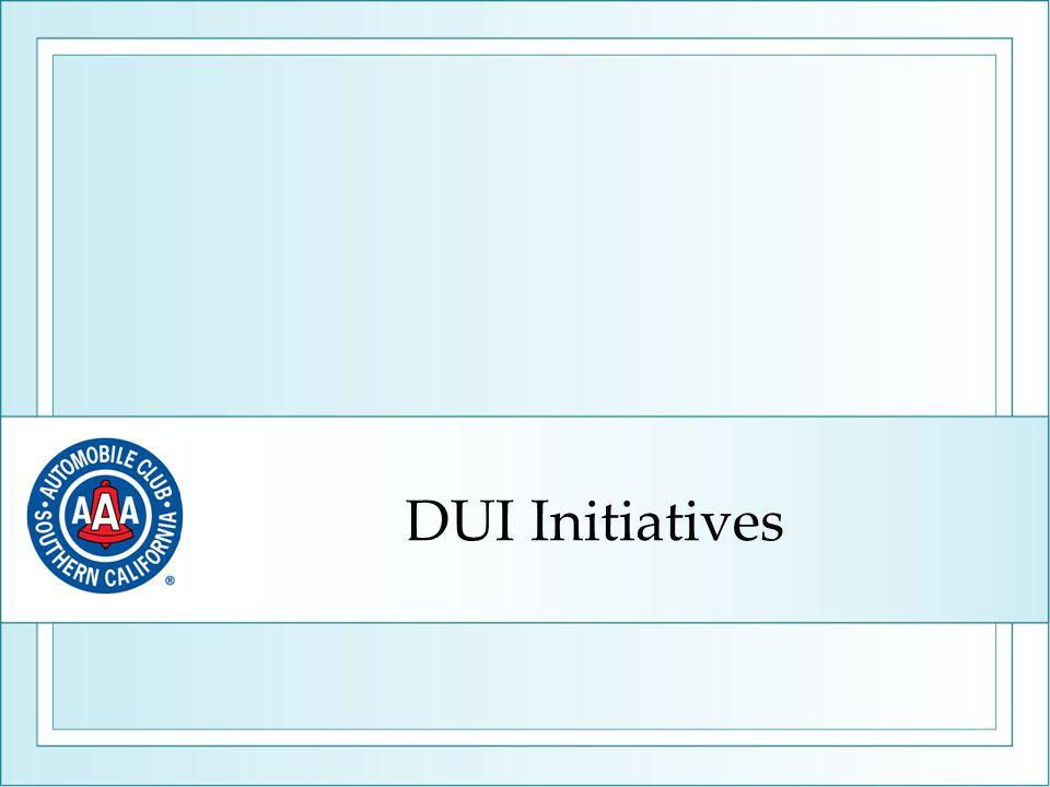 DUI Initiatives