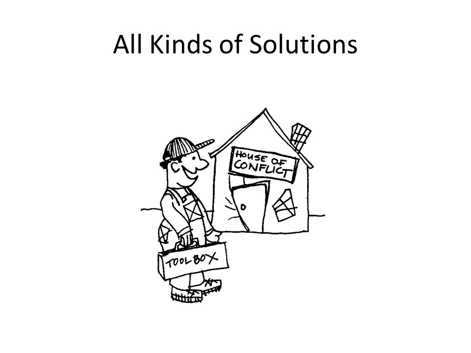 All Kinds of Solutions