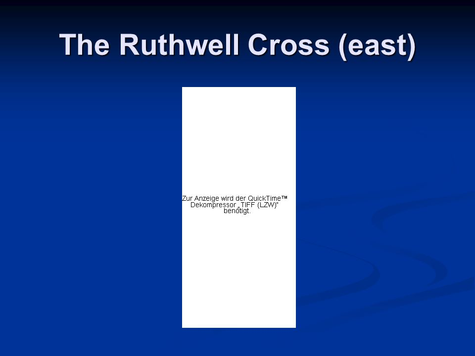 The Ruthwell Cross (east)