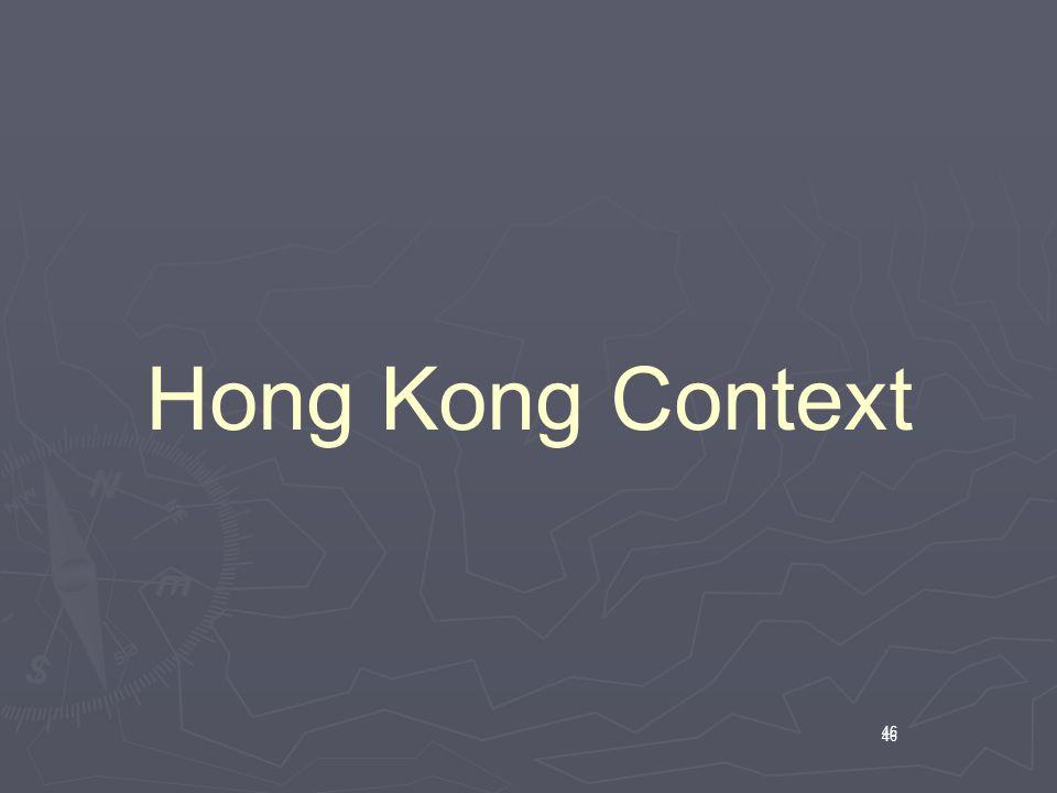 46 Hong Kong Context 46